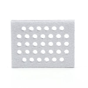 "3M CLEAN SANDING INTERFACE PAD, 28324, 33 HOLES, 3"" X 4"" X 1/2"""
