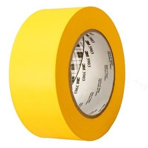 3903 VINYL DUCT TAPE YELLOW BULK - 49       INX 50      YD