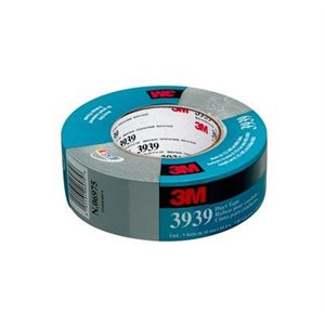 3M™ DUCT TAPE, 3939, SILVER, 72 MM X 55 M, 12 PER CASE