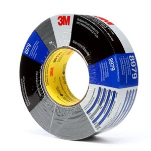 3M(TM) PERFORMANCE PLUS DUCT TAPE 8979 BLACK, 48 MM X 54.8 M, 24 INDIVIDUALLLY WRAPPED ROLLS PER CASE, CONVENIENTLY PACKAGED