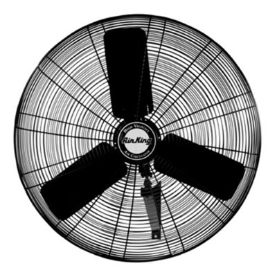 "AIR KING 9035C - WALL MOUNT FAN 30"" OSCILLATING INDUSTRIAL GRADE 1/4 HP 3 SPEED"