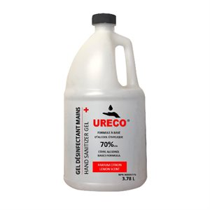 URECO HANDS DISINFECTANT GEL 3.78 L