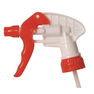 CONTINENTAL 902RW9 - SPRAY PRO TRIGGER SPRAYER 9.75-IN, DT, RED & WHITE, USE WITH CONTINENTAL 932CG BOTTLE