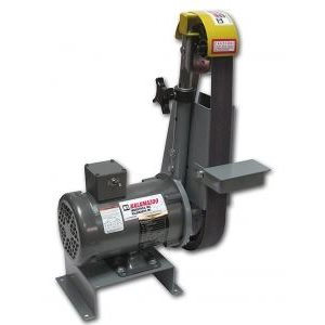 "KALAMAZOO BG248 - 2"" X 48"" BELT GRINDER WITH A SERRATED CONTACT WHEEL"